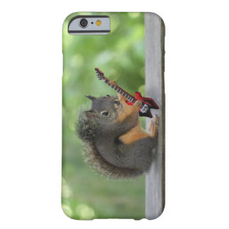 Squirrel Playing Electric Guitar Barely There iPhone 6 Case