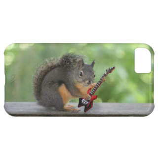 Squirrel Playing Electric Guitar iPhone 5C Cover