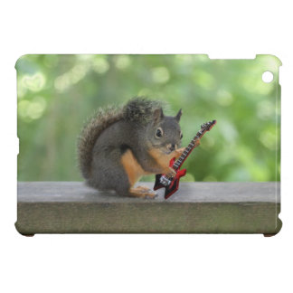 Squirrel Playing Electric Guitar iPad Mini Covers