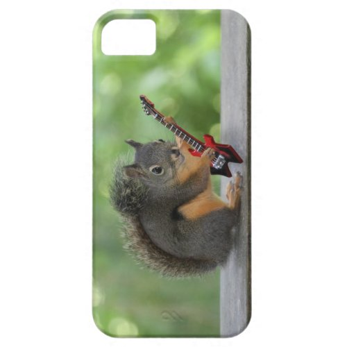 Squirrel Playing Electric Guitar iPhone 5 Cover