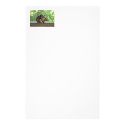 Squirrel Playing Electric Guitar Stationery