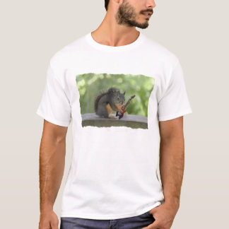 Squirrel Playing Electric Guitar T-Shirt
