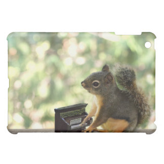 Squirrel Playing Piano Case For The iPad Mini