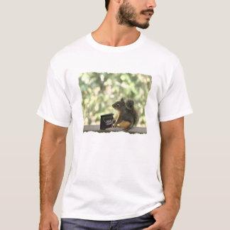 Squirrel Playing Piano T-Shirt
