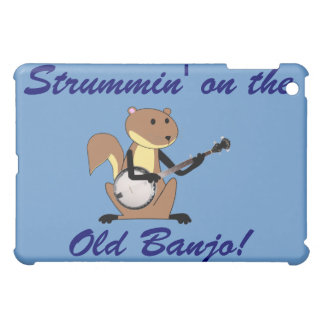 Squirrel Playing the Banjo Cover For The iPad Mini