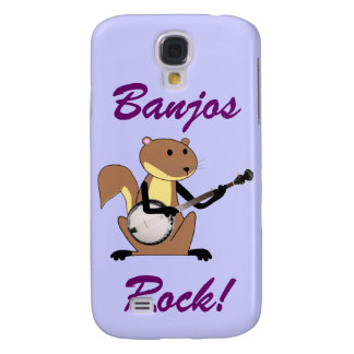 Squirrel Playing the Banjo Samsung S4 Case