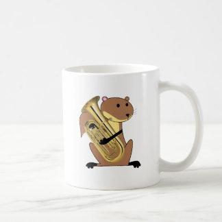 Squirrel Playing the Euphonium Coffee Mug