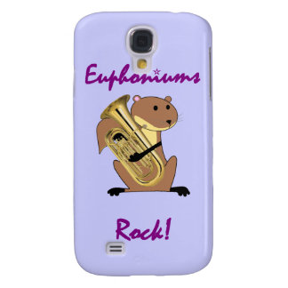 Squirrel Playing the Euphonium Samsung S4 Case