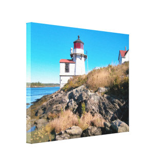 Squirrel Point Lighthouse, Maine Canvas Print