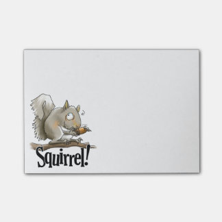 Squirrel Post-It Notes