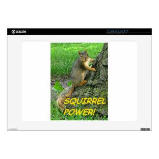 "Squirrel Power! Skin For 15"" Laptop"
