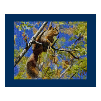 Squirrel Prints and Posters