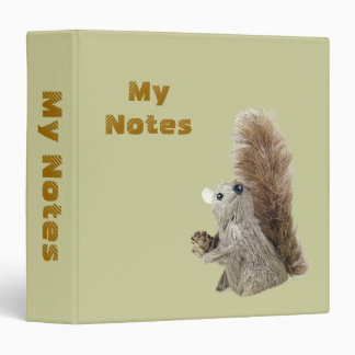 Squirrel Puppet Binder Template