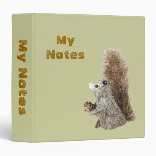 Squirrel Puppet Binder Template