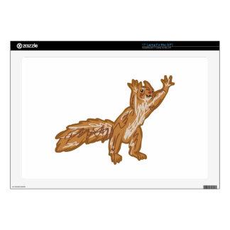 squirrel reaching laptop skin