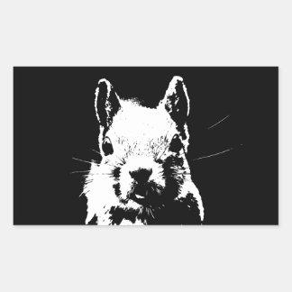Squirrel Rectangular Sticker