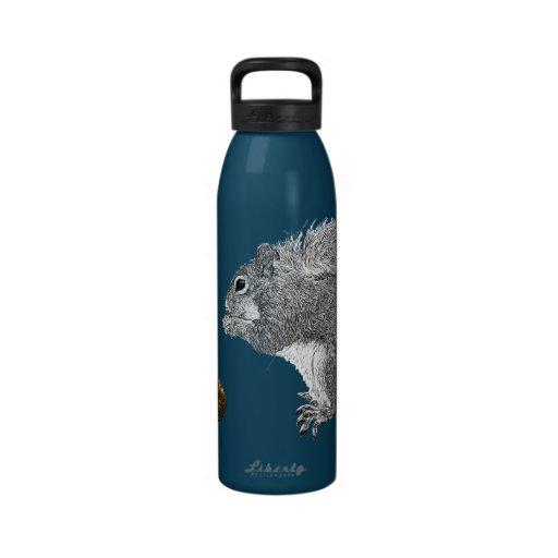 Squirrel Reusable Water Bottle