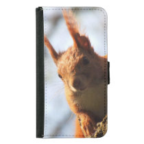 Squirrel Rodent Mammal Wallet Phone Case For Samsung Galaxy S5
