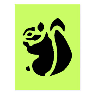 Squirrel Rodent Postcard
