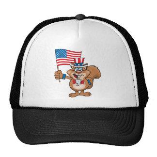 Squirrel Sam Trucker Hat
