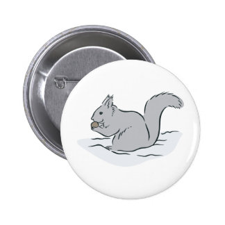 Squirrel Sciuridae Chipmunks Marmots Cute Cartoon Pinback Buttons