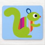 Squirrel Sciuridae Chipmunks Marmots Cute Cartoon Mouse Pad
