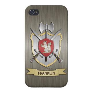 Squirrel Sigil Battle Crest Armor iPhone 4/4S Cases