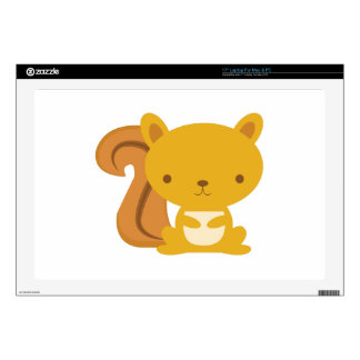 """Squirrel Decal For 17"""" Laptop"""