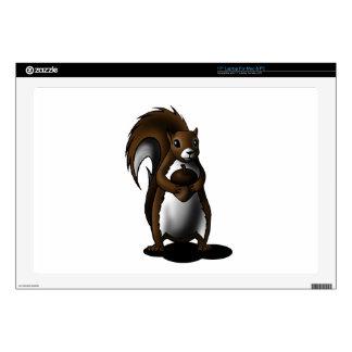"""Squirrel 17"""" Laptop Skin"""