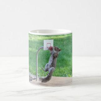 Squirrel Slam Dunk Coffee Mug