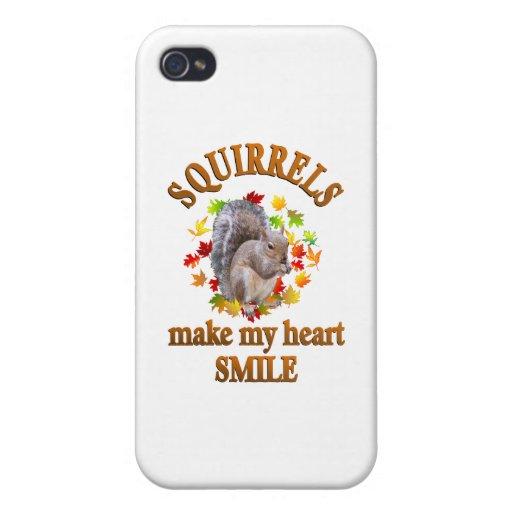 SQUIRREL SMILES iPhone 4 COVERS