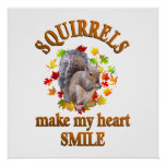 SQUIRREL SMILES POSTERS