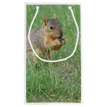 Squirrel Snacking Small Gift Bag