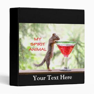Squirrel Spirit Animal Binder