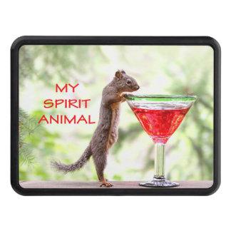 Squirrel Spirit Animal Hitch Cover