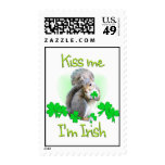 Squirrel St. Patricks Day Stamps