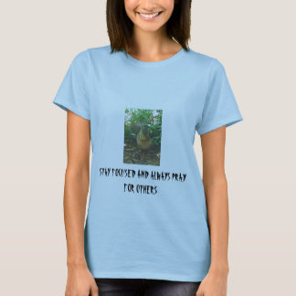 SQUIRREL, STAY FOCUSED AND ALWAYS PRAY FOR OTHERS T-Shirt