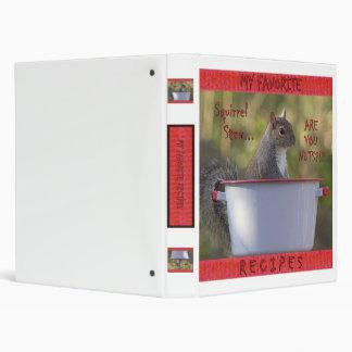 Squirrel Stew Recipe Binder