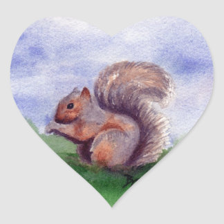 Squirrel Study Sticker