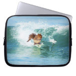 Squirrel Surfer On The Sea Laptop Sleeve