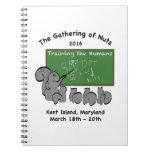 Squirrel teacher spiral notebook