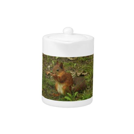 Squirrel Teapot