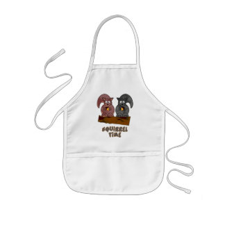Squirrel Time Kids' Apron