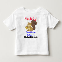 Squirrel Toddler T Shirt