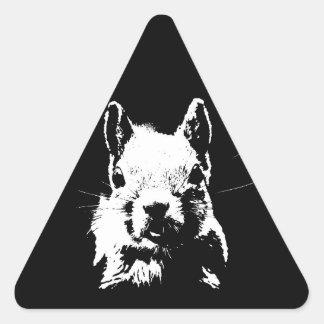 Squirrel Triangle Sticker