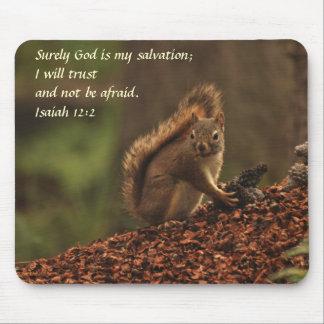 Squirrel - Trust Mouse Pad