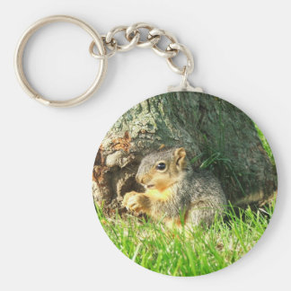 Squirrel Two Keychain