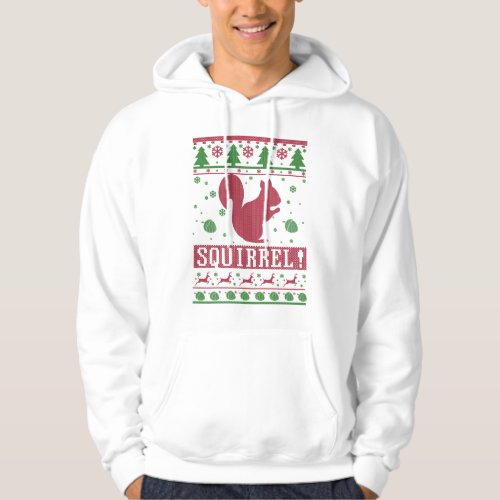Squirrel Ugly Christmas Hoodie After Christmas Sales 2428