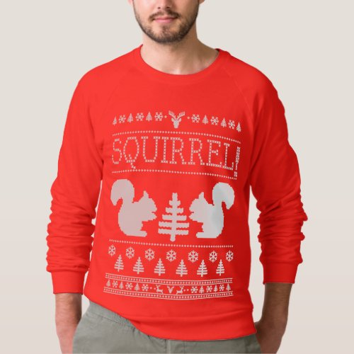 Squirrel Ugly Christmas Sweater After Christmas Sales 2435