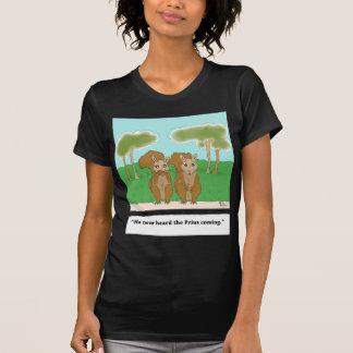 squirrel v. Prius (color).jpg T Shirt